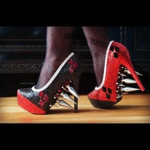 Shoes - Harley Quinn ZombiePeepShow